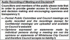 Agenda of Ordinary Council Meeting - 16 October 2017